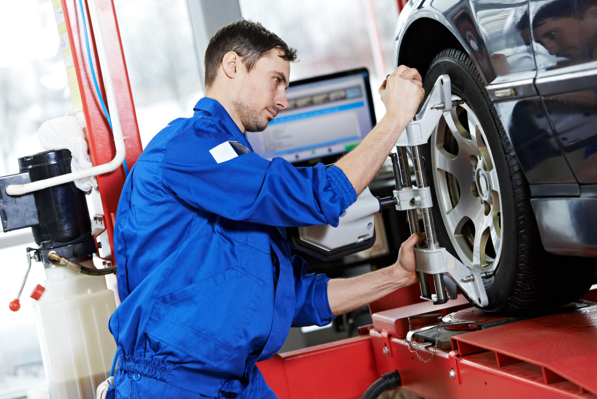 For Your Tyre Treads' Sake. Wheel Alignment